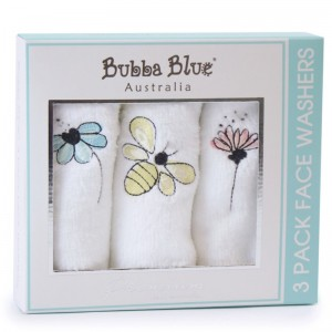 BEE BEAUTIFUL Face Washer Set – pack of 3