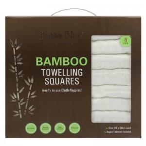 BAMBOO NAPPIES - 8 pack