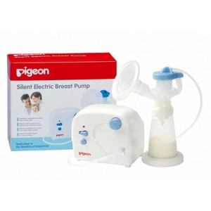 SILENT ELECTRIC BREAST PUMP - includes multimedia kit on breastfeeding tips & instruction manual
