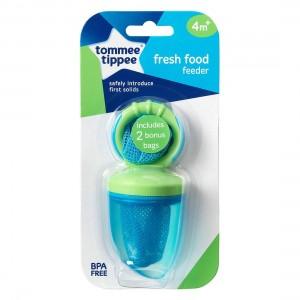 TOMMEE TIPPEE FRESH FOOD FEEDER - blue/green
