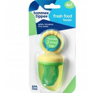TOMMEE TIPPEE FRESH FOOD FEEDER - yellow/green