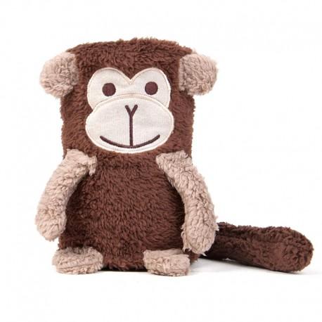 TADPOLES ROLLED SHERPA BLANKET - Monkey