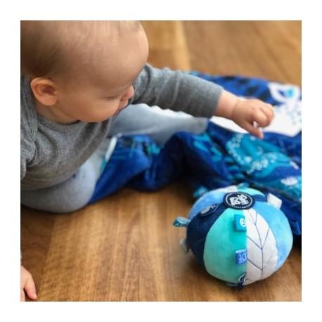 OB DESIGNS SENSORY BALL - blue