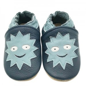 SOFT SOLED LEATHER BABY SHOES - Smile Big  0-6 months