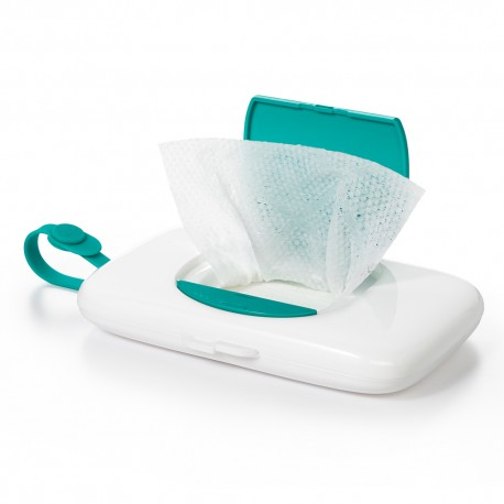 OXO TOT On-the-Go Wipes Dispenser w/Nappy Pouch - Teal
