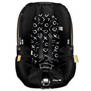 BAMBELLA DESIGNS INFANT HEAD SUPPORT - black XO