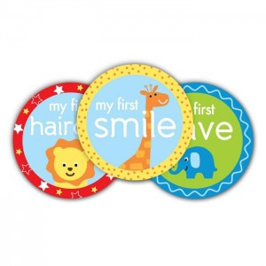 PEARHEAD FIRST YEAR BELLY STICKERS - Blue