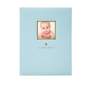 PEARHEAD SWEET WELCOME BABYBOOK - blue
