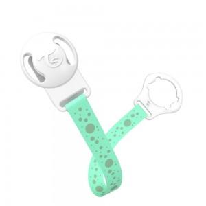 TWISTSHAKE PACIFIER/ DUMMY CLIP - pastel green