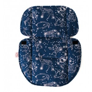 CAR SEAT PROTECTOR – Navy Constellation