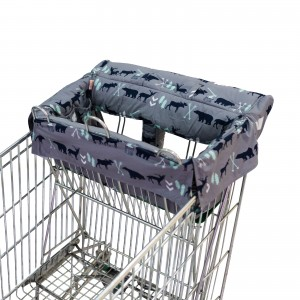 SHOPPING TROLLEY LINER (Fits DOUBLE or SINGLE TROLLEYS) - Bear