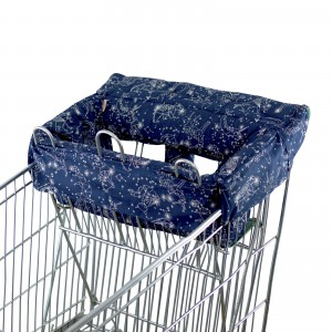SHOPPING TROLLEY LINER (Fits DOUBLE or SINGLE TROLLEYS) - Navy Constellation