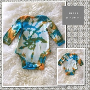 TIE DYED LONG SLEEVE SUIT - Size 00
