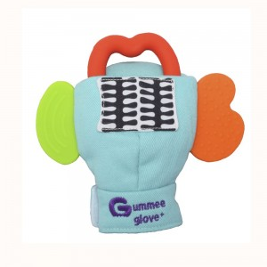 GUMMEE GLOVE  PLUS  (for ages 6 months +) -– turquoise
