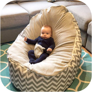 large baby bean bags with harness