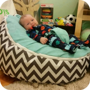 bean bags for newborns with harnesses
