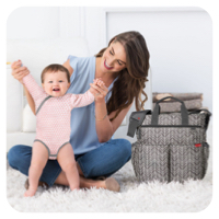 nappy and toddler bags